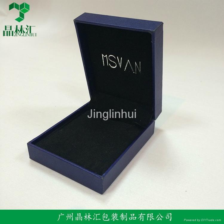Wholesale Custom Paper Necklace Box Jewelry Box 1