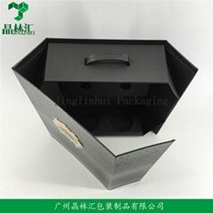 Wholesale Custom Wine Box Foldable Box Gift Box