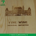 Classical Double Bottle Wooden Wine Box Red Wine Box 5