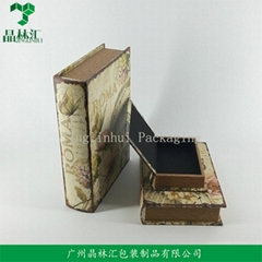 High Quality Custom European Style Vintage Gift Box