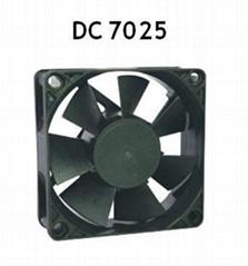 DC 7025 Fan bearing fan Sleeve fan