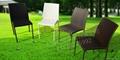 庭院休閑仿藤桌椅 4