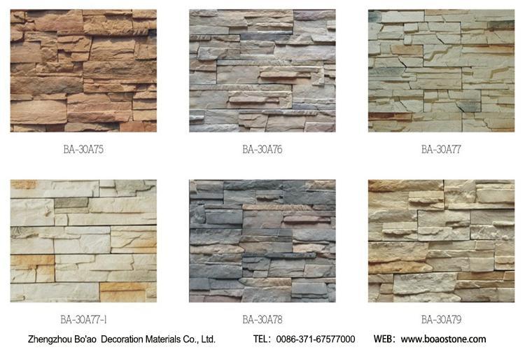 Reef rock face facade stone wall cladding for villa decoration - BA ...