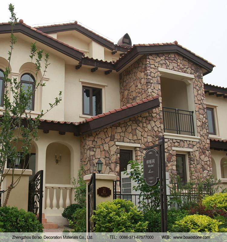 Lightweight manufactured cultured stone veneer exterior Stone products for home exterior