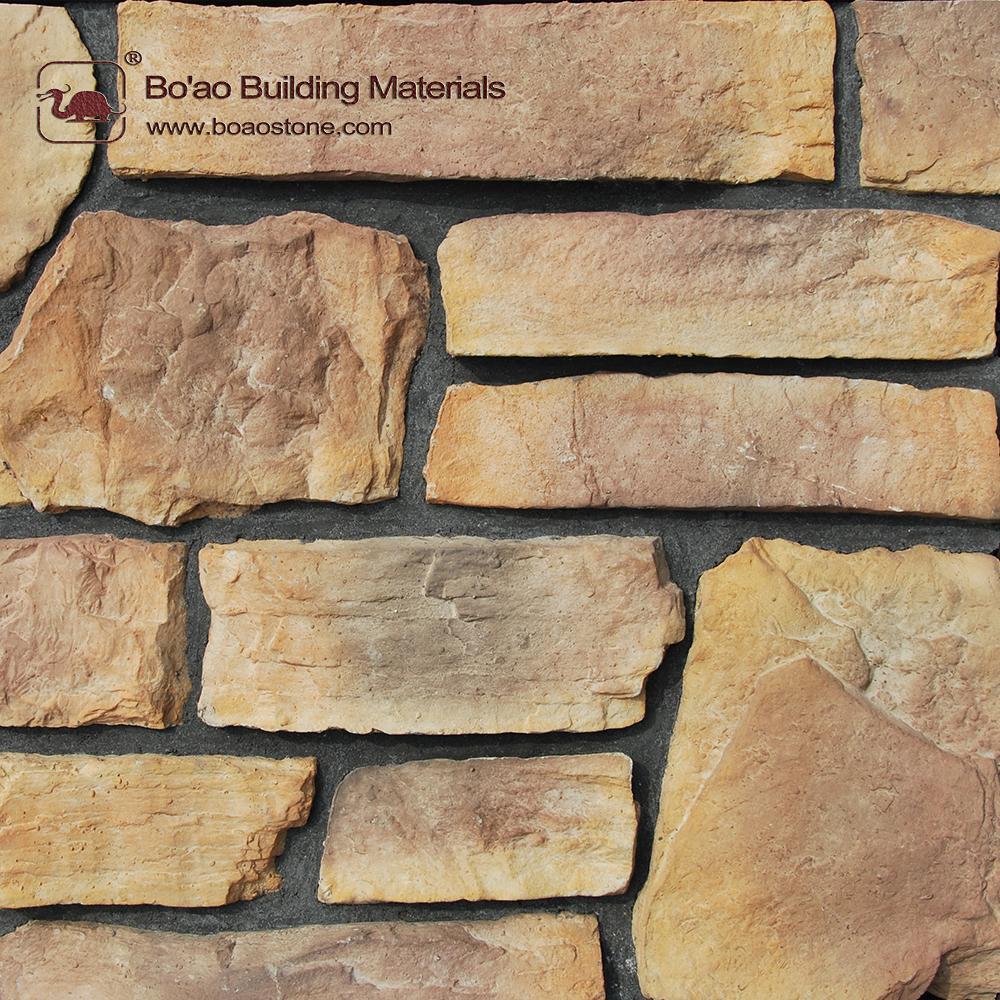 Wholesale Price Mixed Type Ledgestone Wall Tiles Exterior Decoration Ba 70d75 Boao China