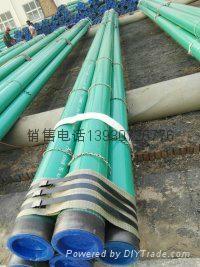 國標3PE聚乙烯防腐鋼管廠 3
