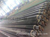 國標鋼套鋼蒸汽管道防腐保溫