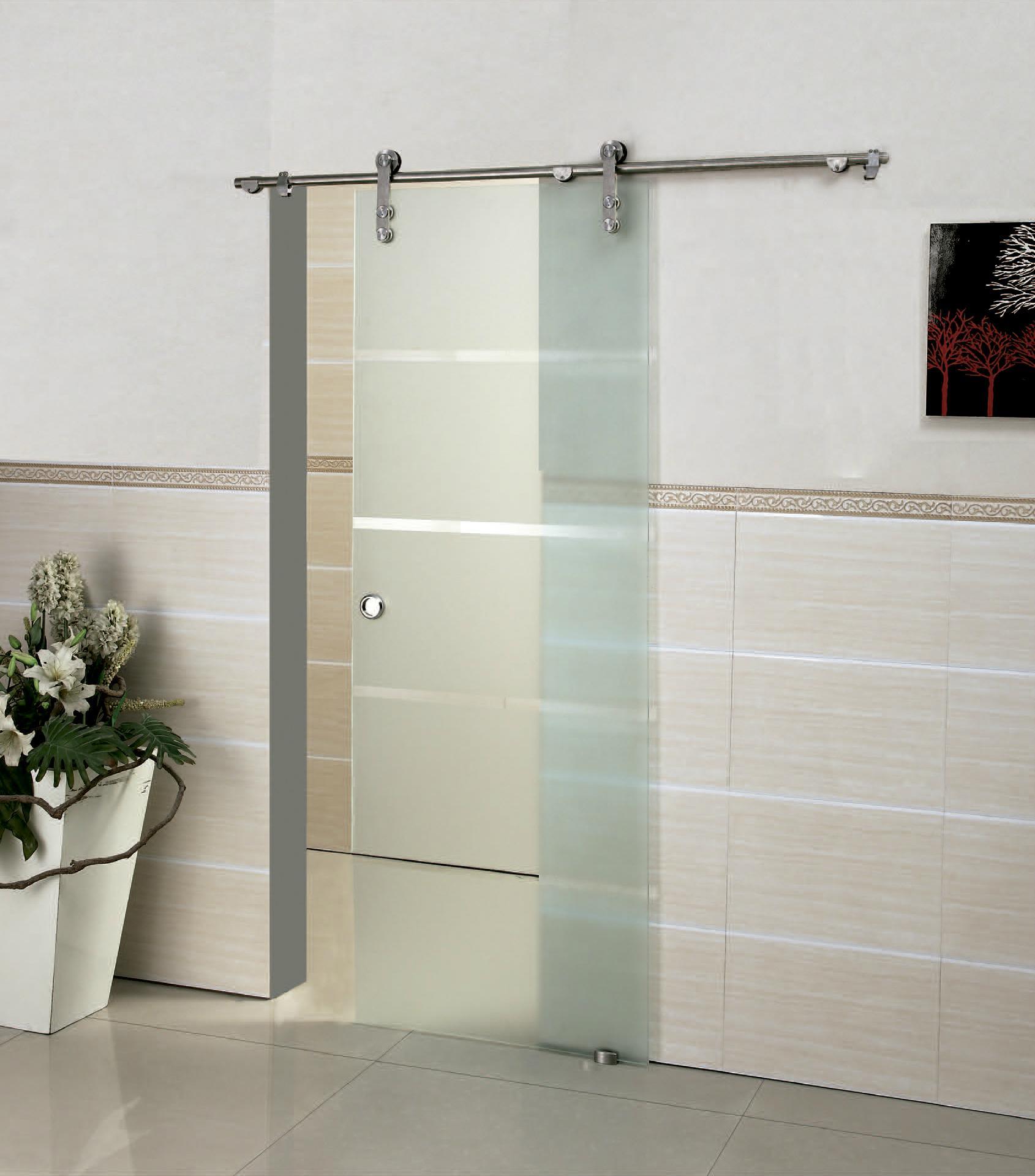 Hotsliding Stainless Steel Interior Glass Doors Kt9001 Kmry
