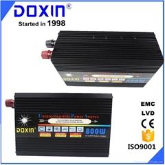 DOXIN DC AC Single output type 12v 220v 800w modified sine wave power inverter