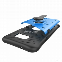 Armor 2-in-1 PC + TPU Kickstand case for samsung galaxy s7 edge