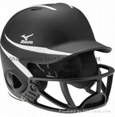 Mizuno MBH252 MVP G2 Batting Helmet With Mask