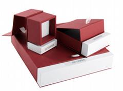 Custom Jewelry kraft paper gift box