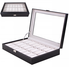 leather cover packaging jewelry plastic