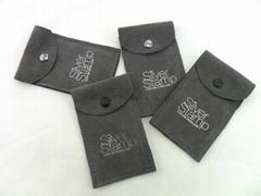 Customized jewelry velvet pouches