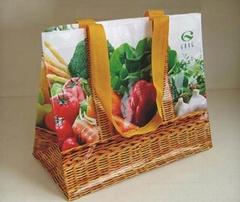 laminated fashion pp woven bag