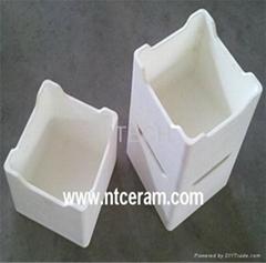Alumina ceramic boats/alumina sagger/alumina tray