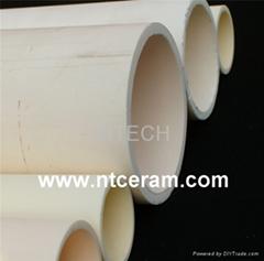 High Temperature large diameter alumina ceramic tube