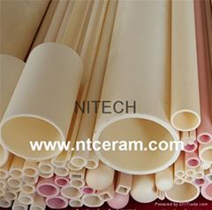 95% 99.7% Al2O3 high alumina C799 ceramic tube