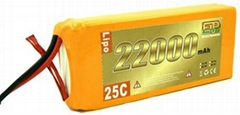 EP Lipo Battery Pack 22000mAh 25C 6S1P