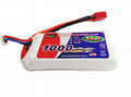 EP Lipo Battery Pack 1000mAh 30C 3S1P 11.1V for RC Car Boat Truck Heli Airplane 1