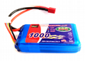 EP Lipo Battery Pack 1000mAh 30C 3S1P 11.1V for RC Car Boat Truck Heli Airplane 2