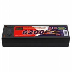 EP Lipo Battery Pack 6200mAh 40C 7.4V 2S1P