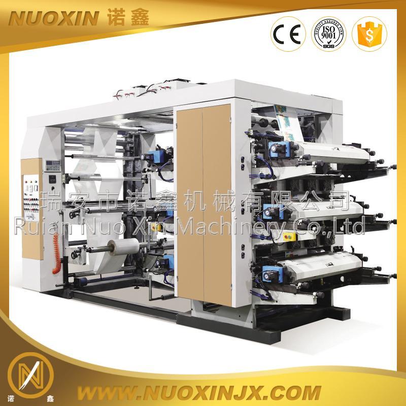 6 Color  Non woven Flexographic Printing Machine 1
