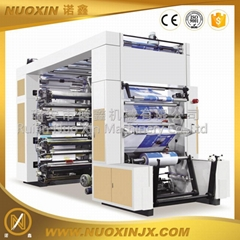 8 Color Stack type Flexographic Printing Machine
