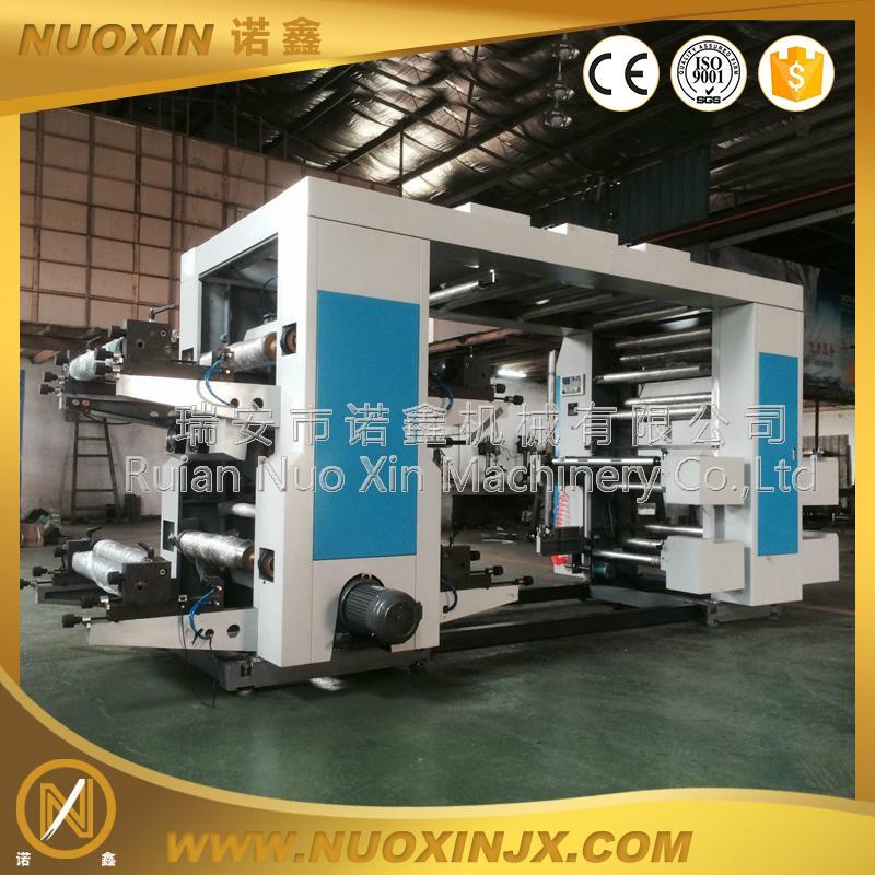 4 Color Non woven Bag Flexo Printing Machine 1