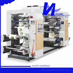 6 Color Stack type Flexographic Printing Machine