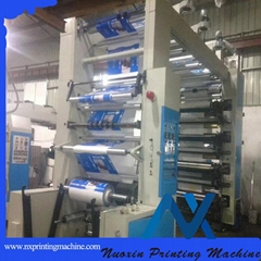 8 Color stack /ci type Flexo Printing Machine