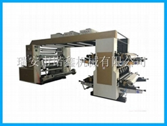 NXC4 4 color stack type flexo printing machine for paper