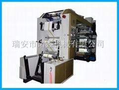 NXC6 6 color stack type flexo printing machine for plastic film bag