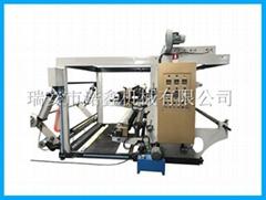 NXC2 2 color stack type flexo printing machine for plastic film bag