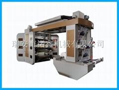 NXT6 6 color flexo printing machine for plastic film bag
