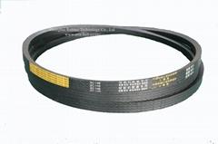 kubota harvester use wrapped rubber driving v belt