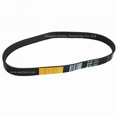 Agricultural use narrow rubber v belt