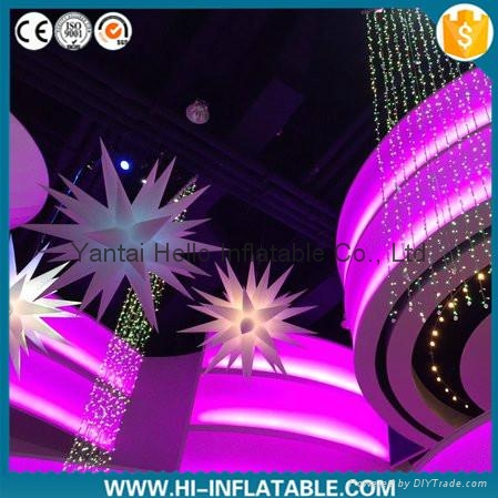 Hot Air N Inflatable Star For Event Club Decor 1