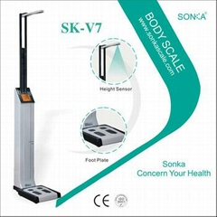 SK-V7 More cheaper electronic height and weight measuring machines