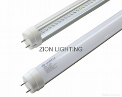 Natural White Led T8 Tube Fluorescent Led Lamp / Ra 90 Ip20 85lm/W