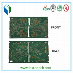 1-8layer High Tg Edge Plating Board Electronic Communication PCB Board