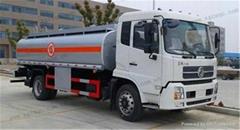25000L aluminum alloy fuel tanker truck