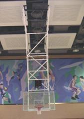 天花可折叠移动式篮球架
