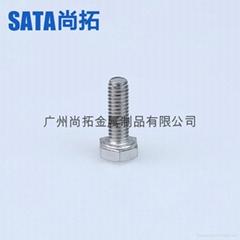 304不鏽鋼外六角螺栓