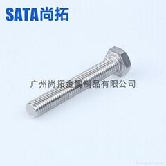 不锈钢A2-70六角头螺栓