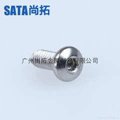 304不锈钢内六角圆杯螺钉