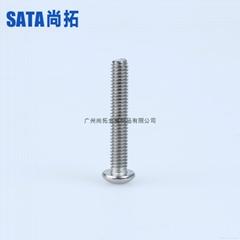 不鏽鋼內六角半圓頭螺栓