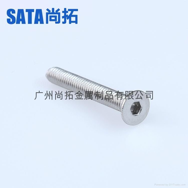 不锈钢沉头螺栓