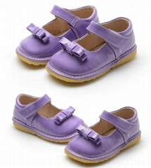Suppliers baby shoes squeaky shoes genuine leather shoes