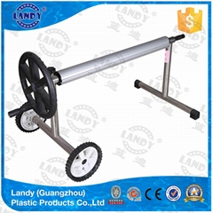 stainless pool accessory cover roller steel reel system for blanket
